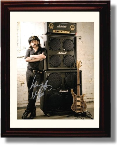 12179ea7caaed Image Unavailable. Image not available for. Color  Framed Lemmy Kilmister  ...