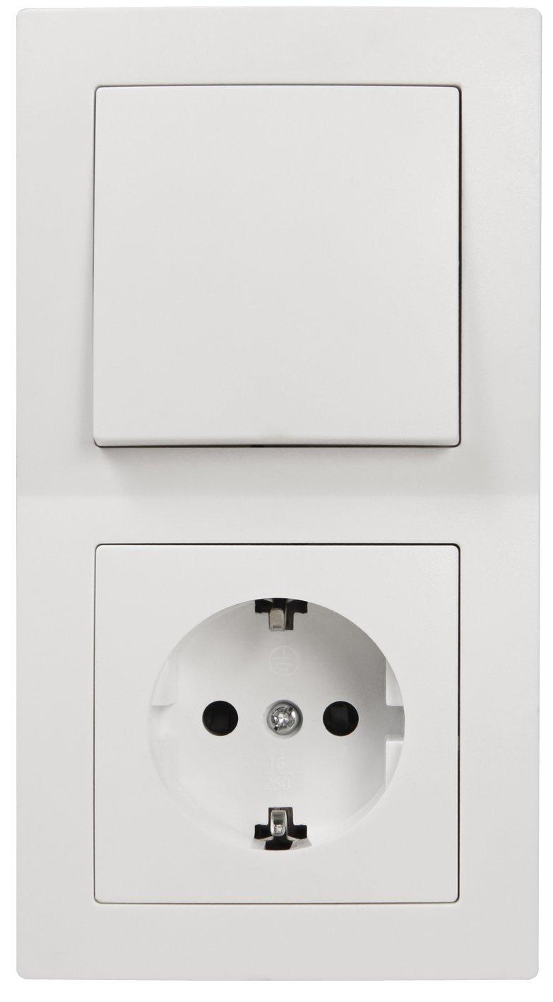 Schalter und Steckdosen-Set FLAIR \