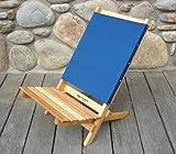 Caravan Folding Beach Chair Fabric: Navy Blue