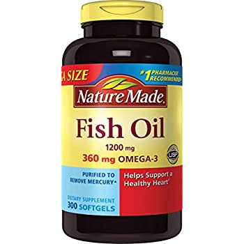Nature made 1200mg of fish oil 2400 per for Nature made fish oil 1200 mg 360 mg omega 3