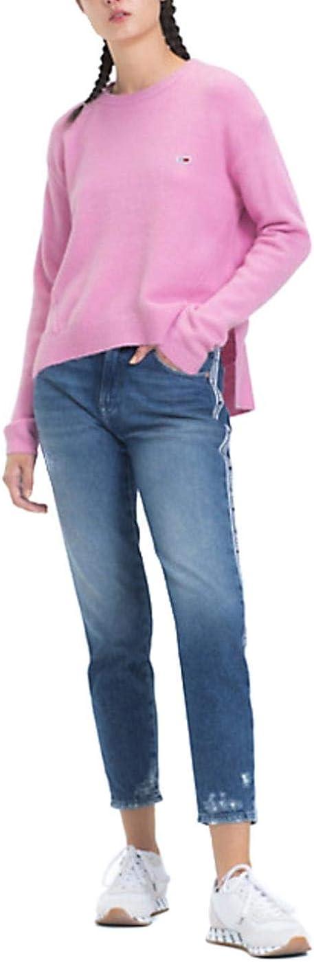 Jersey Tommy Denim Side Stitch Detail Rosa Mujer