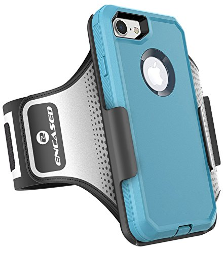 [해외]Otterbox Defender 시리즈 용 운동 암밴드 - iPhone 7 (4.7) 땀에 강한 밴드 (케이스는 포함되어 있지 않음) (인자기 제품)/Workout Armband for Otterbox Defender Series - iPhone 7 (4.7 ) Sweat-Resistant Band (case is not included) (Encased...