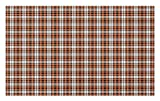 Lunarable Plaid Doormat, Autumn Season in Countryside Themed Retro Checkered Gingham Pattern, Decorative Polyester Floor Mat with Non-Skid Backing, 30 W X 18 L Inches, Orange Charcoal Grey White