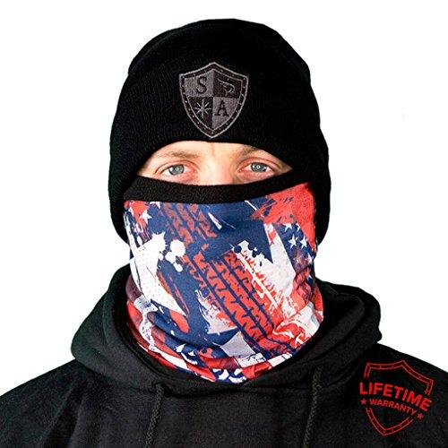 Protective Balaclava (Thermal Winter Fleece Face Mask Snow Snowboard Shield Protective Balaclava Alpha Defense Salt Armour (USA))