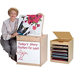 Mobile Big Book Display/Storage Unit