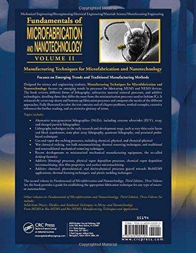 Fundamentals Of Microfabrication And Nanotechnology Pdf
