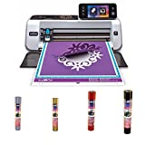Brother ScanNCut2 Home and Hobby Cutting Machine + Craft Vinyl Bundle