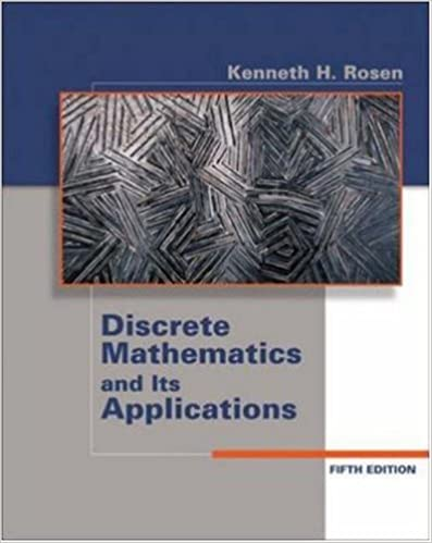 Discrete Mathematics And Its Applications Solution Manual Pdf