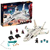 LEGO Marvel Spider Man Far From Home: Stark Jet and the Drone Attack 76130 Building Kit (504 Pieces)