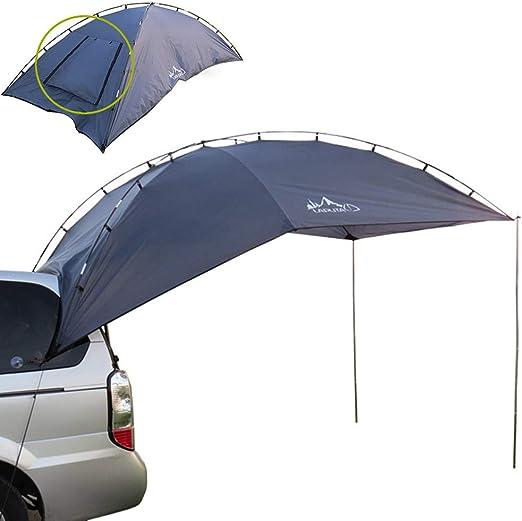 Cuenta Cola del Coche Tienda de campaña para Acampar al Aire Libre Refugio portátil para el automóvil Anti-UV Toldo para Autos Carpa Impermeable Adecuado para 3-4 Personas Picnic de Pesca: Amazon.es: Hogar