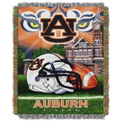 The Northwest Company North Carolina Tar Heels Home Field Advantage Woven Tapestry Throw