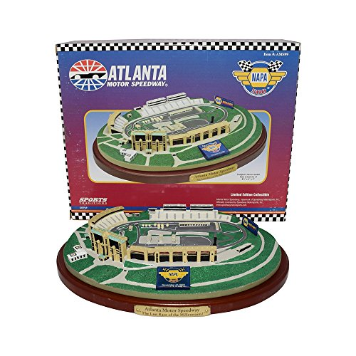 ATLANTA MOTOR SPEEDWAY (The Last Race of the Millenium) NAPA 500 Sports Traditions NASCAR Diecast Track Model (Speedway Nascar)