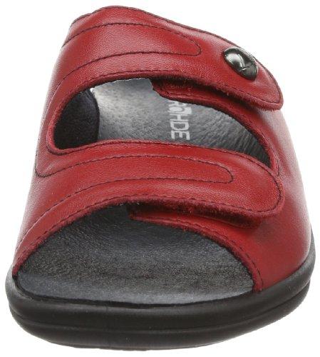Rohde Verden - Zapatillas para mujer Rojo (Rot (cherry 43))