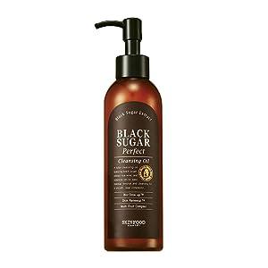 SKIN FOOD Black Sugar Perfect Cleansing Oil 6.76 fl.oz. (200ml)