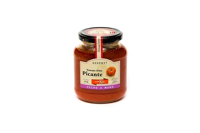 Estilo Kikí Tomate Frito Picante Gourmet - Paquete de 3 x 350 gr - Total: