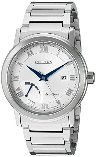 Citizen-Mens-Eco-Drive-Dress-Quartz-Stainless-Steel-Casual-Watch-ColorSilver-Toned-Model-AW7020-51A