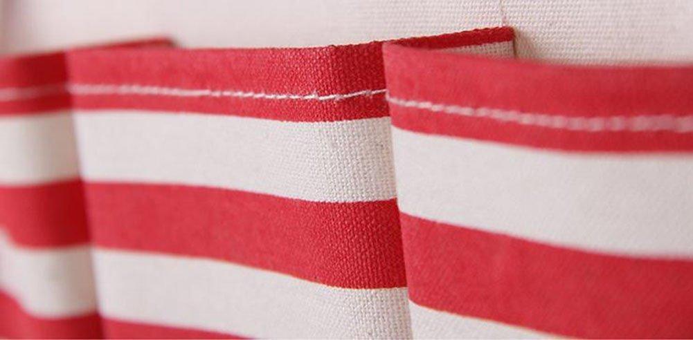 Gris bigboba pat/ère murale en tissu sac de stockage de porte de Mur de multiples couches armoire de salle de bain r/ésistant /à leau organisateurs de chambre avec 7/poches