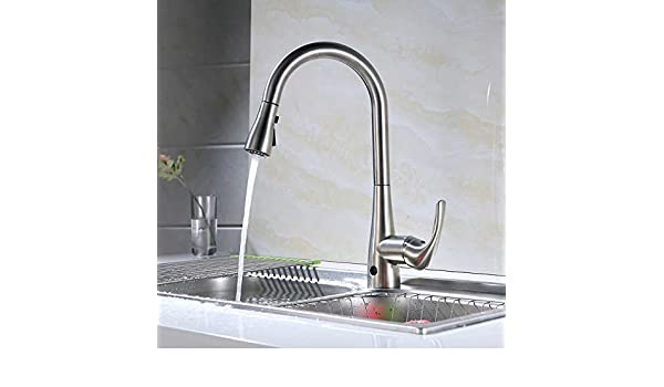 Flow Motion Activated Pull-Down Kitchen Faucet - - Amazon.com