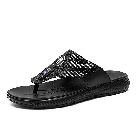 Zapatillas Hombre 2018 Nuevos Hombres Cool Drag/Flip Flops Moda para Hombres Zapatos de Playa