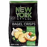 New York Style Bagel Crisps, Garlic, 7.2 Ounce
