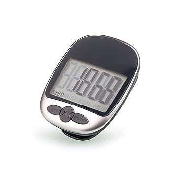 vimmor caminar podómetro con precisión pista pasos portátil deporte precisa paso contador, contador de calorías