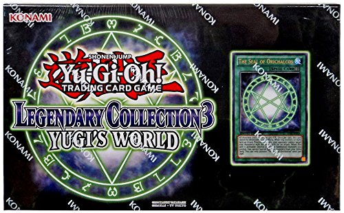 Yu Gi Oh Pack List - Yugioh Legendary Collection 3: Yugi's World Box Trading Card with The Seal of Orichalcos(Discontinued by manufacturer)