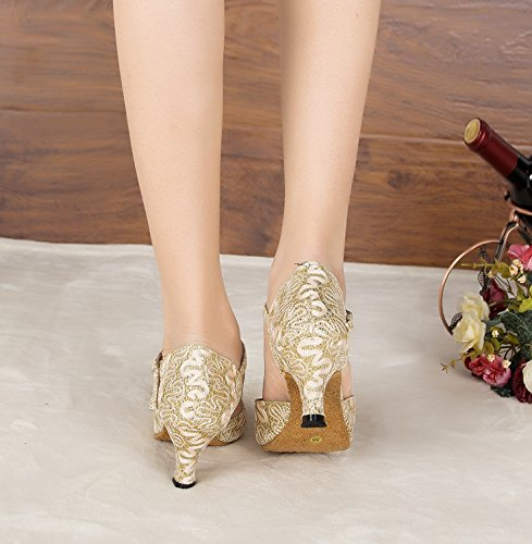 Tanzschuhe Damen Tanzschuhe Tanzschuhe Damen Minitoo Minitoo Gold Damen Gold Minitoo I67nqCw