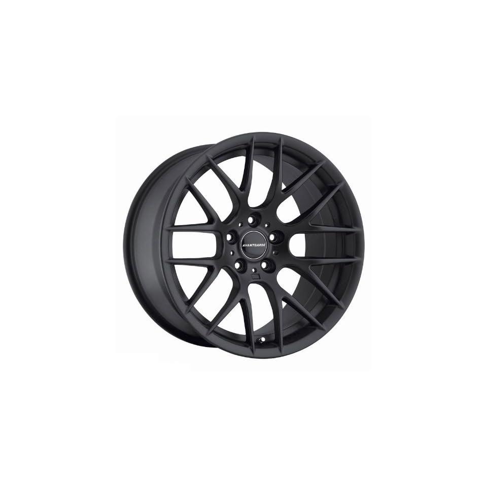 Avant Garde M359 19 x9 19 x10 Wheels Rims Matte Black