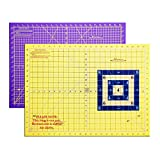 Martelli Rotary Cutting Mat, Small - 18'' x 24'' Rollable, Highest Quality