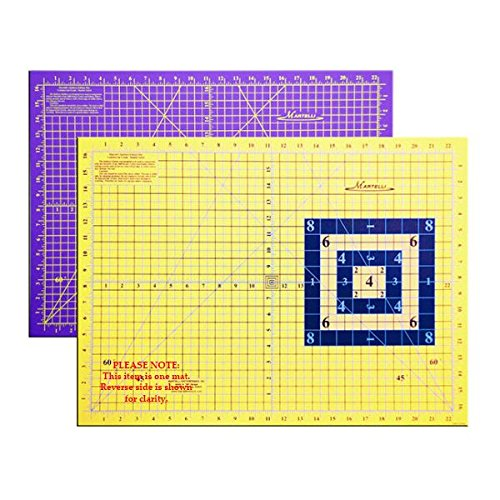 Martelli Rotary Cutting Mat, Small - 18'' x 24'' Rollable, Highest Quality by Martelli Notions