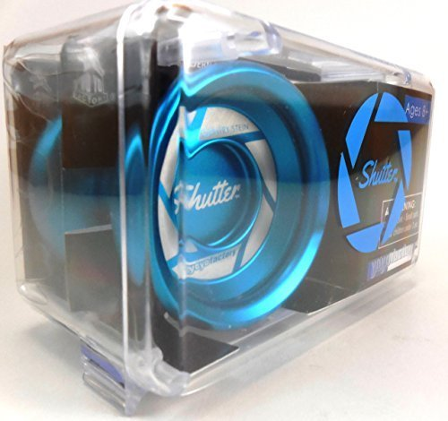 AUTHENTIC Aqua Shutter Yoyo in Hard Plastic Case by YoYoFactory by YoYoFactory