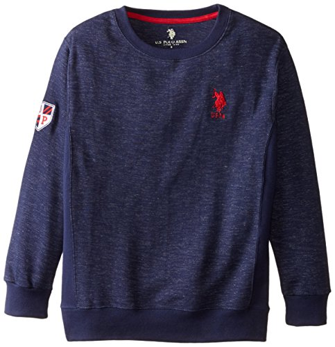 us-polo-assn-big-boys-space-dyed-french-terry-fashion-crew-neck-pullover-classic-navy-14-16