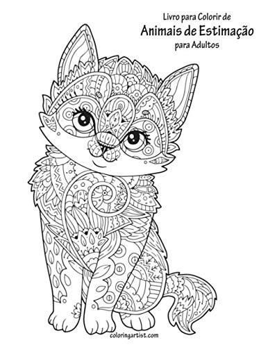 Buy Livro Para Colorir De Animais De Estimacao Para Adultos Book