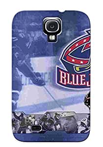 New CGqGshp292tYbzd Nhlrangers Tpu Cover Case For Galaxy S4