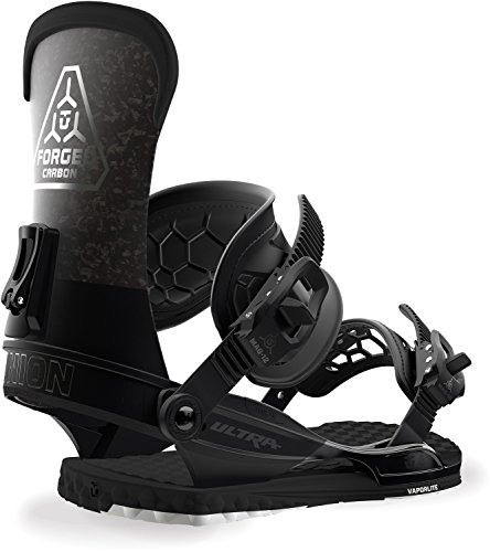 Union Ultra Snowboard Bindings Black Mens Sz M (7-10) (Best Freestyle Bindings 2019)