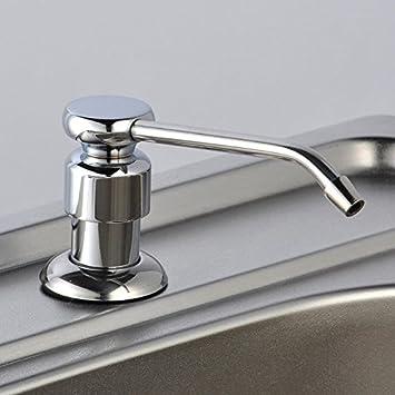 Hlluya Wasserhahn für Waschbecken Küche Manuelle Seifenspender Küche ...