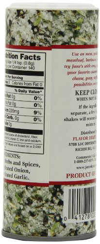 Jane's Krazy Mixed Up Salt, 4-Ounce Unit (Pack of 12) by Jane's Krazy (Image #5)