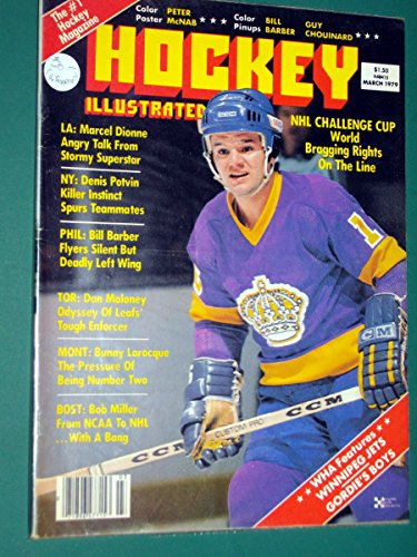 March 1979 Hockey Illustrated Magazine- Marcel Dionne- L.A. Kings- on cover