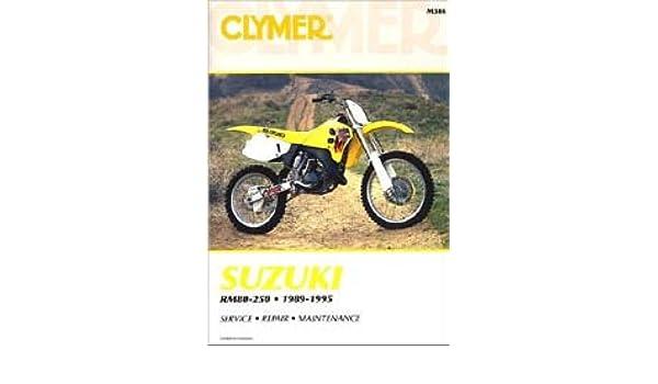 M386 Clymer Suzuki Rm80 Rm125 Rm250 Rmx250 19891995 Motorcycle Repair Manual Manufacturer Amazoncom Books: 89 Rm 250 Wiring Diagram At Gundyle.co