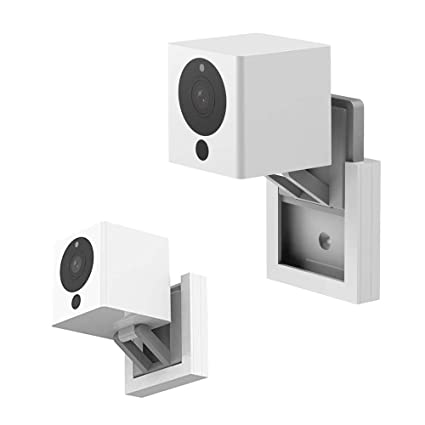 Wyze Camera V2 Wall Mount Holder for Wyze Cam Wall Mount Bracket for Wyze  Cam 1080p HD Camera and iSmart Alarm Spot Camera,Outdoor and Indoor  Use,Full