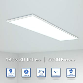 Favorit OUBO LED Panel 120x30cm Kaltweiß / 48W / 4200lm / 6000K QR02