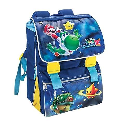 a15e756bf Zaino Estensibile Super Mario Galaxy: Amazon.it: Valigeria
