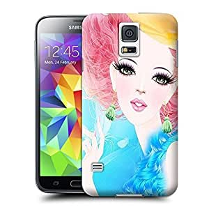 Unique Phone Case Fashion girl#20 Hard Cover for samsung galaxy s5 cases-buythecase