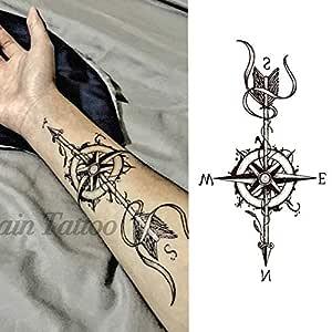 7pcs Proveedores de China etiqueta engomada hermosa del tatuaje ...