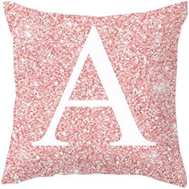 Amazon.com: HsgbvictS - Funda de cojín con diseño de letras ...