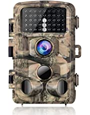 Campark Wildlife Trail Camera 14MP 1080P Trap with Infrared Night Vision Motion Activated Hunting Game Cam 0.3s Trigger Speed with IP56 Waterproof 120°Detecting Range 2.4