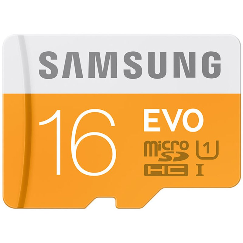 Samsung EVO Class 10 16  GB MicroSDHC 48 MB/S Memory Card without SD Adapter  MB MP16D/IN  Micro SD
