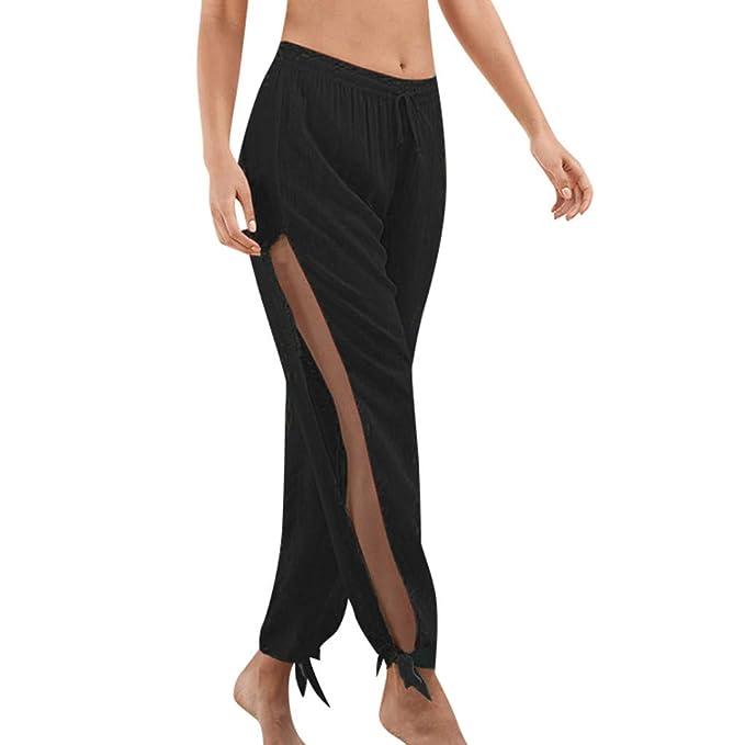 Pantalon Yoga Mujer Fannyfuny Casuales Leggings Cintura Alta ...