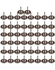 Bekleding Nagels Kopspijkers, 50 STKS Verdikte Meubels Antieke Bekleding Nagels Kopspijkers Stud-Punaise Ronde Kop Decoratieve Punaise Hardware Onderdelen