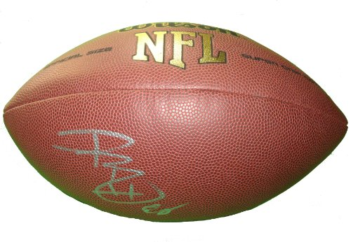 Kansas City Chiefs Dwayne Bowe Autographed Hand Signed NFL Wilson Football with Proof Photo of Signing, Cleveland Browns, LSU Tigers, COA- KC Chiefs Collectibles